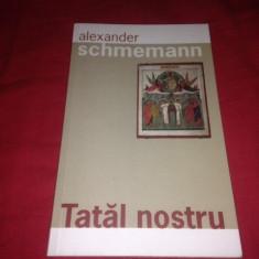 Pr. Prof. Alexander Schmemann, Tatăl nostru - Carti Crestinism