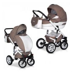 Caruciorul 2 in 1 Durango Latte Euro-Cart - Carucior copii 2 in 1 Euro-cart, Maro