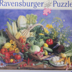Ravensburger PUZZLE, 1000 piese, ca.70x50 cm No.158072 Made in Germany, Carton, 2D (plan), Unisex
