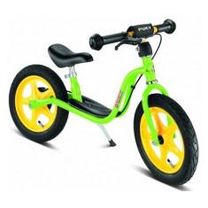 Bicicleta fara pedale cu frana 87 x 34 cm LR1 Br Verde Puky - Bicicleta copii