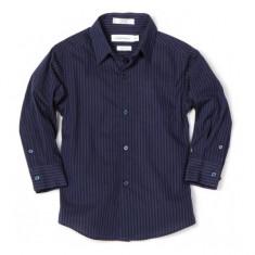 Camasa albastra cu dungi 5 ani Calvin Klein, Albastru