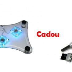 Oferta Cooler pentru laptop Cadou Aspirator laptop