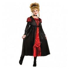 Costum de carnaval Vampirita L (8-10 ani/max 147cm) Rubies, Rosu