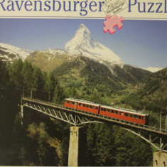 Ravensburger PUZZLE, 1000 piese, ca.70x50 cm No.159093 Made in Germany, Carton, 2D (plan)