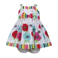 Rochita multicolora cu imprimeu floral Baby 18 luni Bonnie Jean