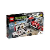 Porsche 919 Hybrid si 917K Pit Lane 75876 Speed Champions LEGO