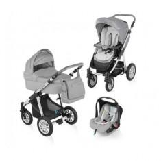 Carucior 3 in 1 Dotty Grey Baby Design - Carucior copii 3 in 1
