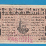 Germania 5 mark 1918 - bancnota europa