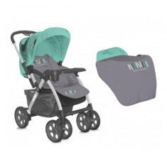 Carucior sport City Grey and Green Lorelli - Carucior copii Sport