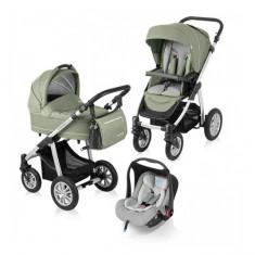 Carucior 3 in 1 Lupo Comfort Green Baby Design - Carucior copii 3 in 1