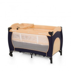 Pat Voiaj Sleep n Play Center Classic Hauck - Patut pliant bebelusi Hauck, 120x60cm, Crem