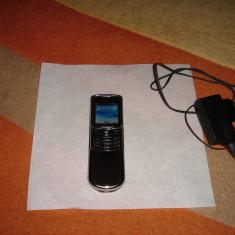 NOKIA 8800 ORIGINAL 100% ARGINTIU CA NOU - 439 LEI !!! - Telefon Nokia, <1GB, Neblocat, Fara procesor, 32 MB