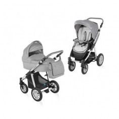 Carucior 2 in 1 Dotty Grey Baby Design - Carucior copii 2 in 1