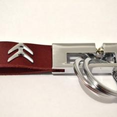 Breloc CITROEN piele model deosebit - Breloc Auto