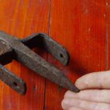 Balama cui din metal model vechi pentru usa !!!