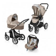 Carucior multifunctional 3 in 1 Lupo Beige Baby Design - Carucior copii 3 in 1