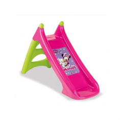 Tobogan copii XS 310275 Minnie cu sistem de apa Smoby, Plastic