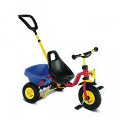 Tricicleta cu maner 2363 CAT 1L Puky - Tricicleta copii Puky, Multicolor