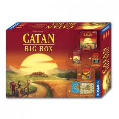 Catan Big Box, jocul de baza cu 4 scenarii noi si extensie 5-6 jucatori - Joc board game