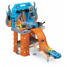 Hot Wheels statie service cu masina inclusa 73 cm Faro - Masinuta Faro, Plastic