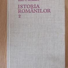 ISTORIA ROMANILOR- GIURESCU, VOL II, CARTONATA, PANZATA - Istorie