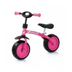 Bicicleta fara Pedale Super Rider 10 inch Pink Hauck - Bicicleta copii