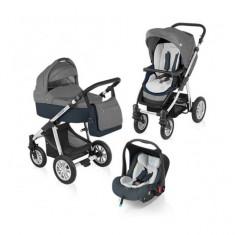 Carucior 3 in 1 Dotty Graphite Baby Design - Carucior copii 3 in 1