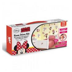 Kit Decor Minnie Mouse Clubhouse Walltastic