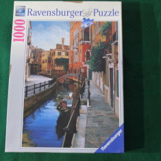 Ravensburger PUZZLE, 1000 piese, ca.70x50 cm No.158072 Made in Germany, Carton, 2D (plan)