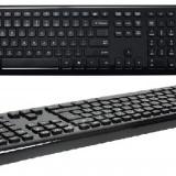 Kit tastatura + mouse Asus W3000 Chiclet fara fir negru USB