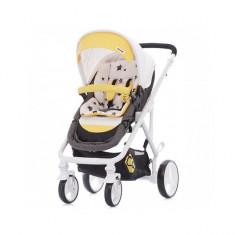 Carucior transformabil Etro Yellow Chipolino - Carucior copii 2 in 1