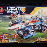 Joc tip LEGO NEXO KNIGHTS - 379 piese - Lama tunet - cod 10488