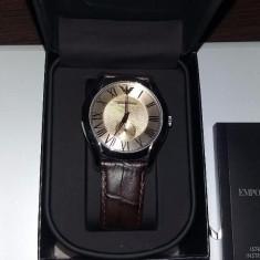 Ceas Emporio Armani - Ceas barbatesc Armani, Mecanic-Manual