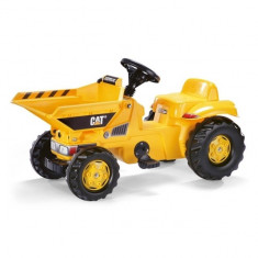 Tractor cu Pedale copii 024179 Galben Rolly Toys - Vehicul