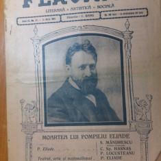 revista flacara 31 mai 1914-moartea lui pompiliu eliade