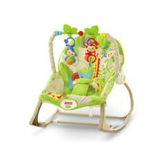 Balansoar bebe 2 in 1 Infant to Toddler Rainforest Friends Fisher Price - Balansoar interior
