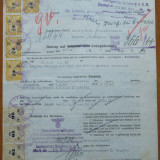 2 documente naziste , unul din Moldova Sulita , Romania , 1944