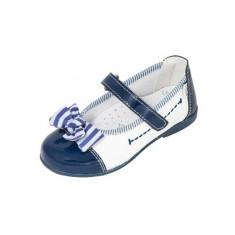 Pantofi albastri cu fundita 27 Melania - Pantofi copii