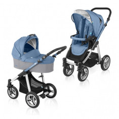 Carucior multifunctional 2 in 1 Lupo Blue Baby Design - Carucior copii 2 in 1
