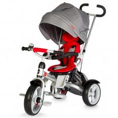 Tricicleta multifunctionala Giro Rosu Coccolle - Tricicleta copii