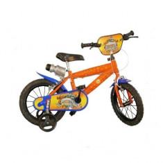 Bicicleta seria Skylanders 16 inch Dino Bikes - Bicicleta copii Dino Bikes, Portocaliu