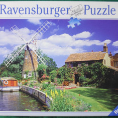 Ravensburger PUZZLE, 1000 piese, ca.70x50 cm No.157860 Made in Germany, Carton, 2D (plan), Unisex