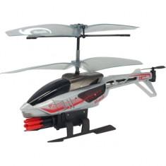 Elicopter teleghidat Heli Sniper Gri Silverlit - Elicopter de jucarie, Plastic