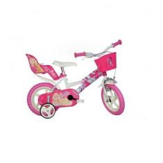Bicicleta seria Barbie 12 inch Dino Bikes - Bicicleta copii