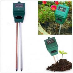 Tester analogic pentru pamant, 2 in 1, PH si umiditate, sol
