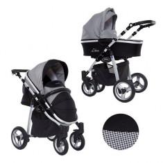 Carucior 3 in 1 Libero Black Kunert - Carucior copii 3 in 1