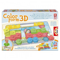 Puzzle Color Form 3D Educa