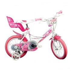 Bicicleta seria 24 14 inch Alb Dino Bikes - Bicicleta copii