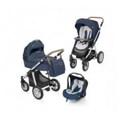 Carucior 3 in 1 Dotty Denim Navy Baby Design - Carucior copii 3 in 1