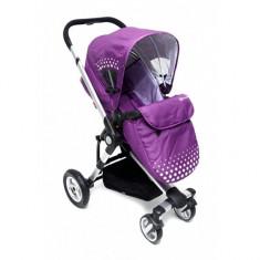 Carucior 3 in 1 Kraft Purple KinderKraft - Carucior copii 3 in 1